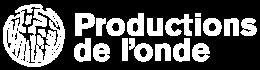 Productions de l'onde Logo